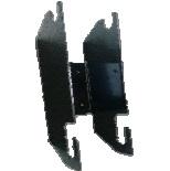 Fixation métallique 10cm montable (30001)